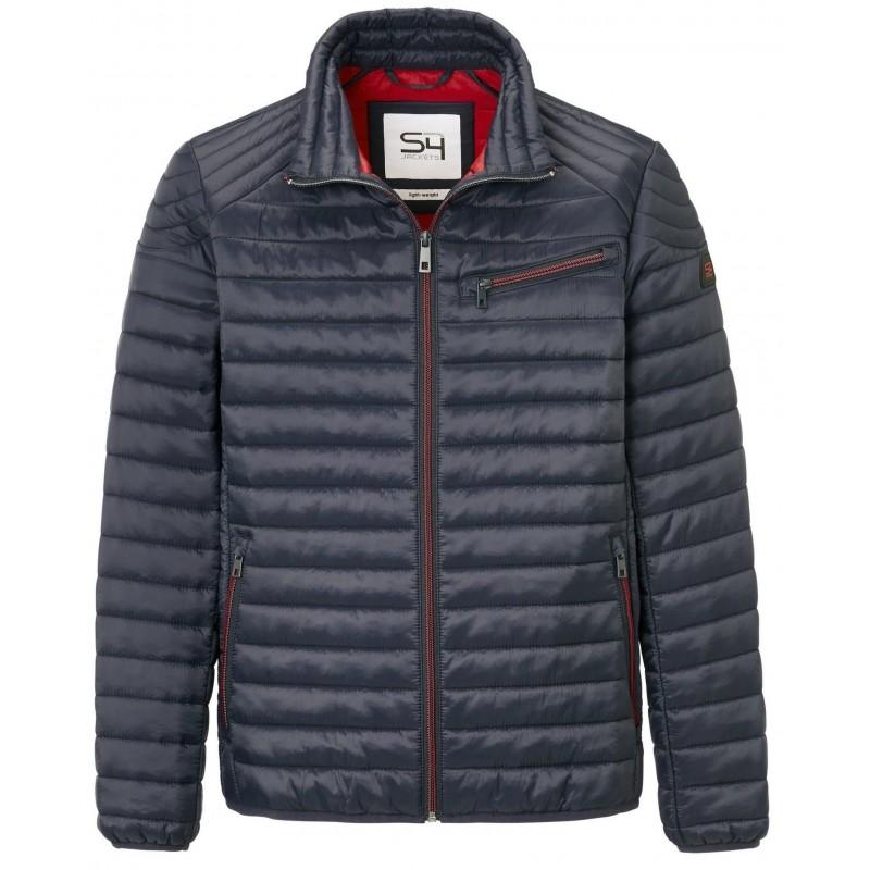 Sweter w serek fioletowy KITARO