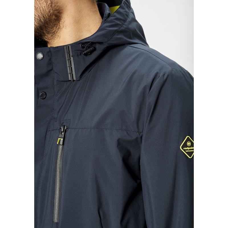 Koszula z krótkim rękawem Replika Jeans błękitna