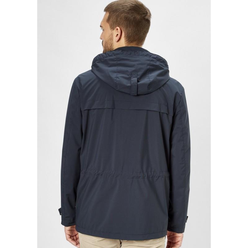 Koszula z krótkim rękawem Replika Jeans granatowa