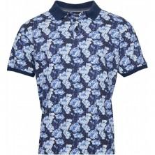 T-shirt błękitny Replika Jeans