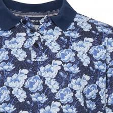 T-shirt pomarańczowy Replika Jeans