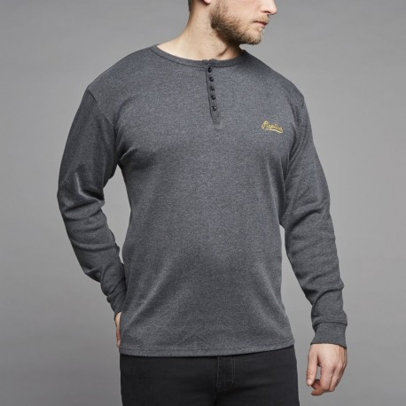 Koszulka longsleeve Replika Jeans rozpinana