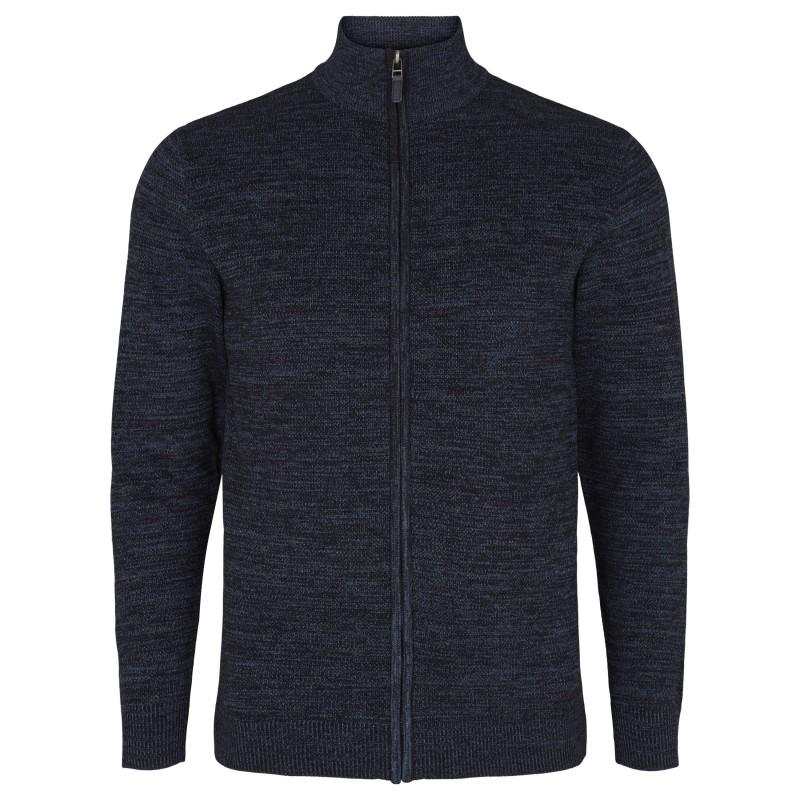 T-shirt ciemnozielony rozpinany Replika Jeans