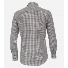 T-shirt w serek NORTH 56°4 granatowy