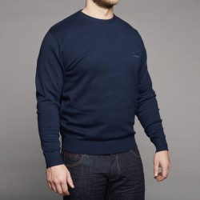 Sweter granatowy Replika Jeans 5XL