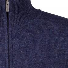 Sweter rozpinany bordowy KITARO 6XL