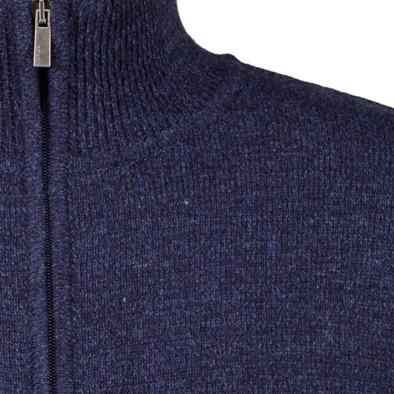 Sweter rozpinany bordowy KITARO