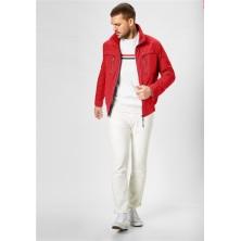Sweter rozpinany niebieski KITARO 3XL