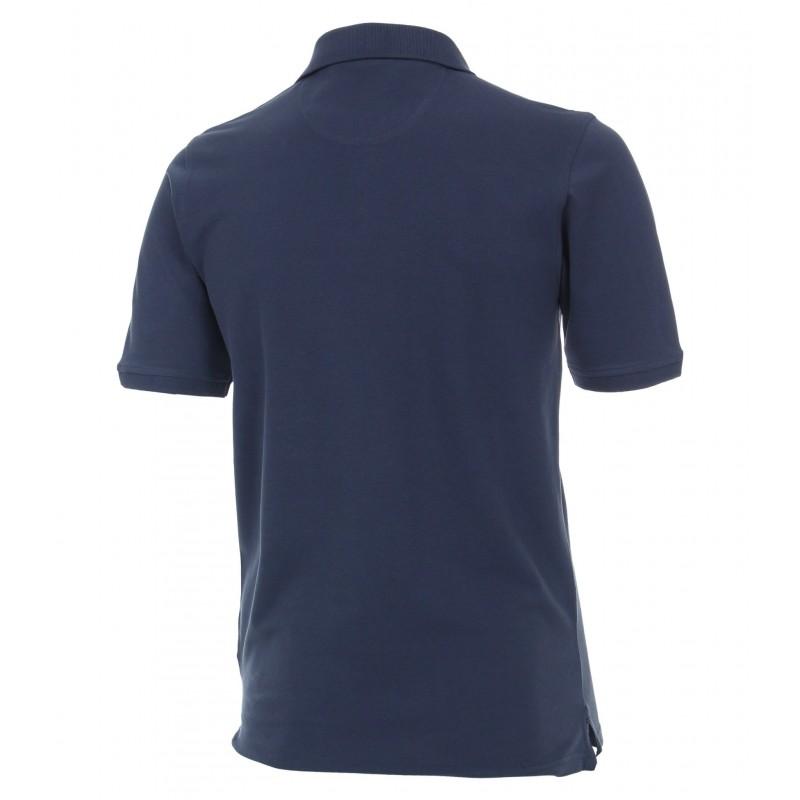 Sweter niebieski w serek KITARO
