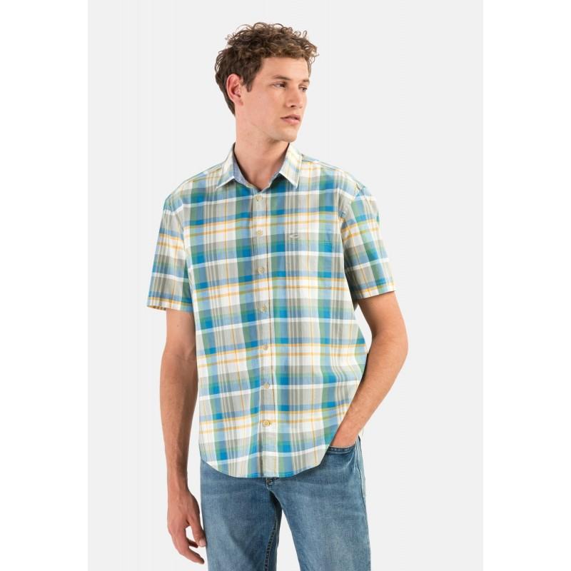 Koszulka polo KITARO błękitna