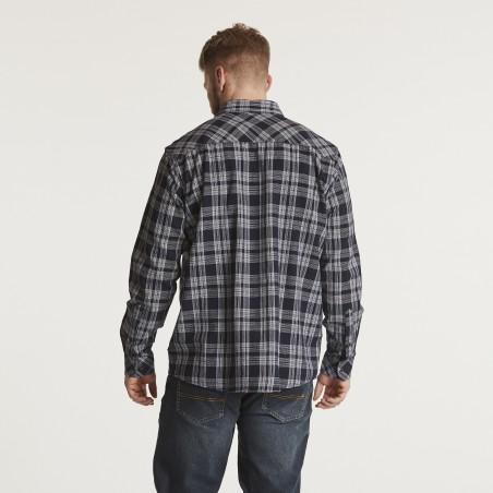 Koszula flanelowa w kratkę Replika Jeans 6XL
