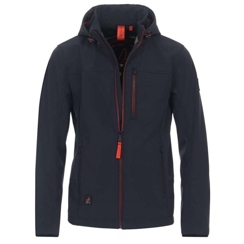 Koszula CASA MODA czerwona w kratkę