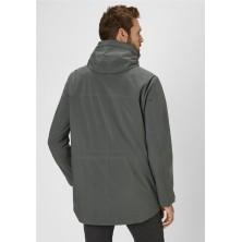 Spodnie chino czarne DIVEST dla wysokich
