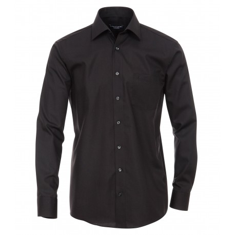 Koszula wizytowa non-iron CASA MODA czarna