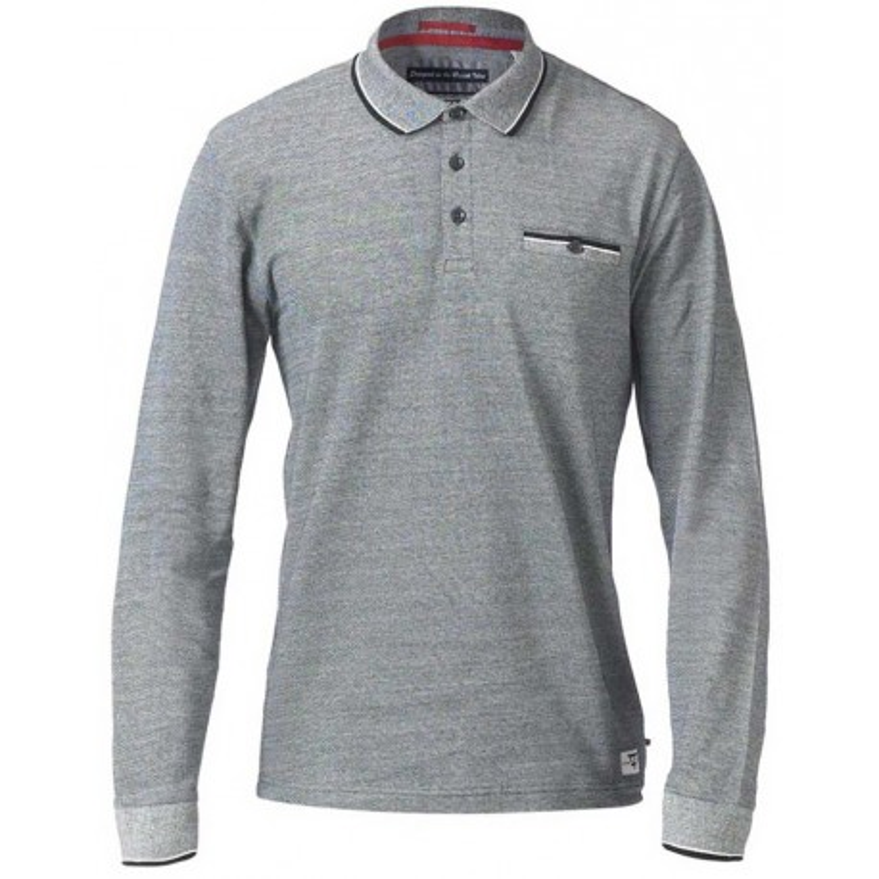 Bluza polo DUKE D555 czarna