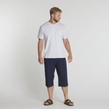 T-shirt biały Replika Jeans