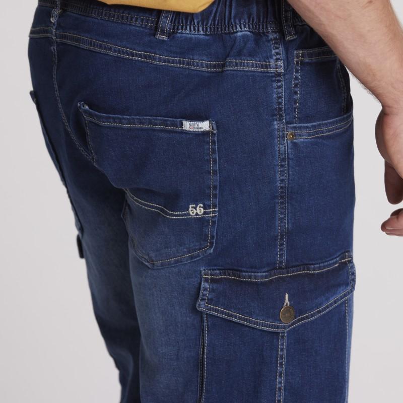 T-shirt elastyczny bez rękawów biały ADAMO