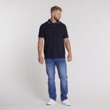 Koszulka polo KITARO różowa 7XL