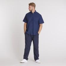 Koszulka polo KITARO ciemnoniebieska 6XL