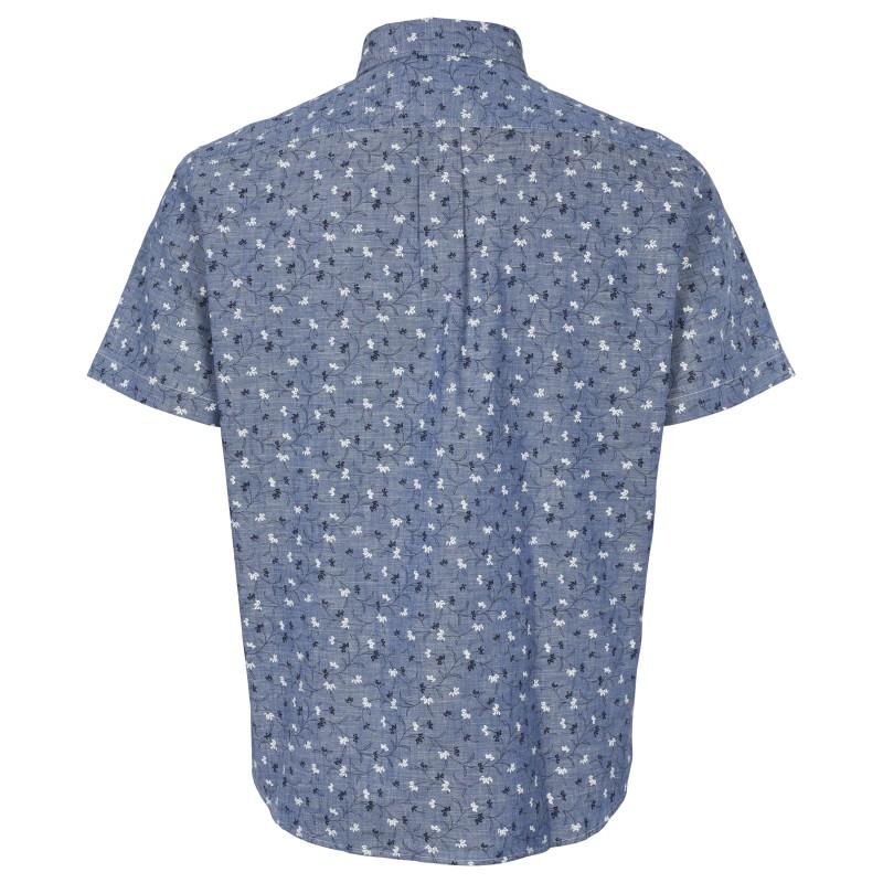 Koszula NORTH 56°4 niebieska w paski