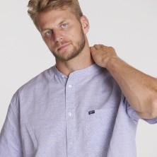 Koszula lniana CASA MODA w kratkę 5XL