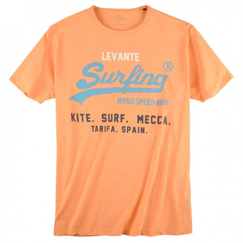 T-shirt pomarańczowy KITARO