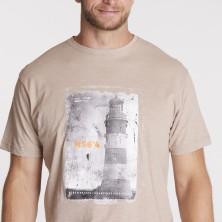T-shirt bez rękawów niebieski NORTH 56°4