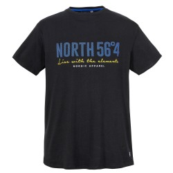 T-shirt czarny NORTH 56°4