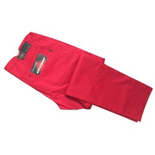 Spodnie czerwone DIVEST - letnie