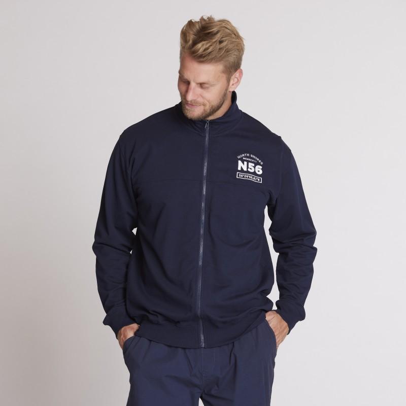 Koszulka longsleeve Replika Jeans rozpinana czarna
