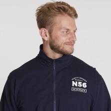 Koszulka longsleeve Replika Jeans rozpinana czerwona