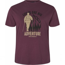 T-shirt fioletowy NORTH 56°4