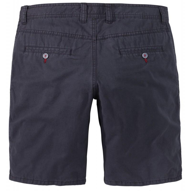 T-shirt gładki czarny Replika Jeans 2 szt.