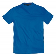 T-shirt niebieski gładki NORTH 56°4