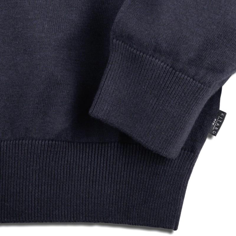 Niebieski t-shirt GREYES od AllSize