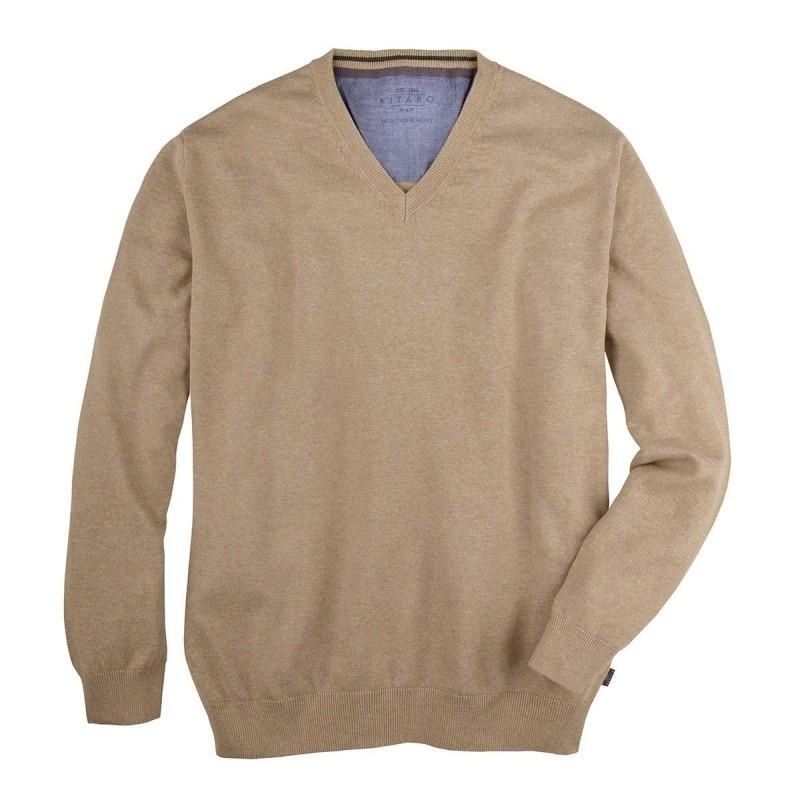 T-shirt biały z Replika Jeans od AllSize