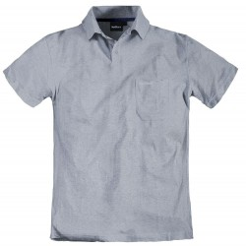 Koszulka polo szara gładka NORTH 56°